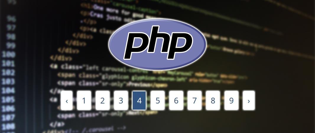 Fonction de pagination en PHP