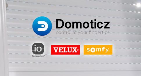 Piloter volets Somfy IO HomeControl avec Domoticz et KLF-050