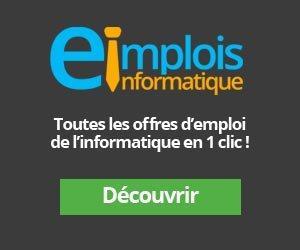 Emplois Informatique