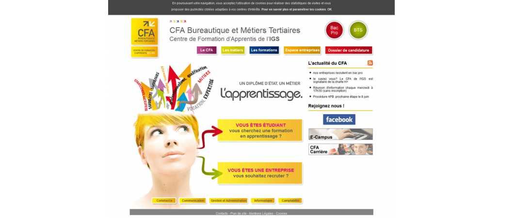 CFA Igs – Bureautique et Métiers Tertiaires