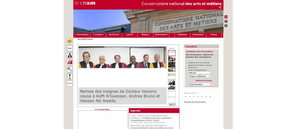 CNAM – Conservatoire National des Arts et Métiers