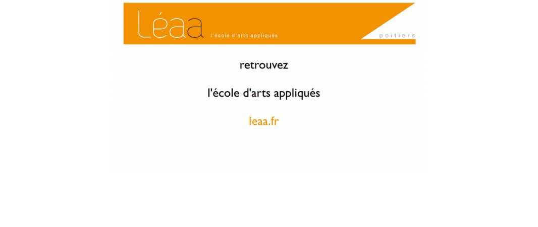 Eaa Poitiers – Ecole d'Arts Appliqués