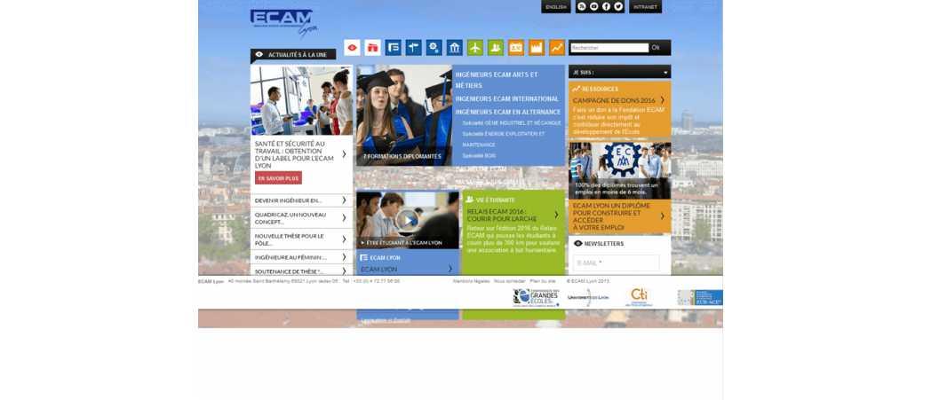 Ecam Lyon – Ecole Catholique d'Arts et Métiers de Lyon
