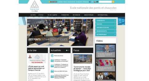 Ecole des Ponts Paristech – Ecole Nationale des Ponts et Chaussees