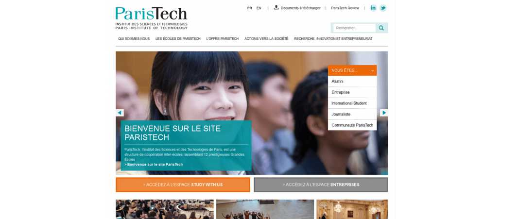 Ecole Paristech Entrepreneurs