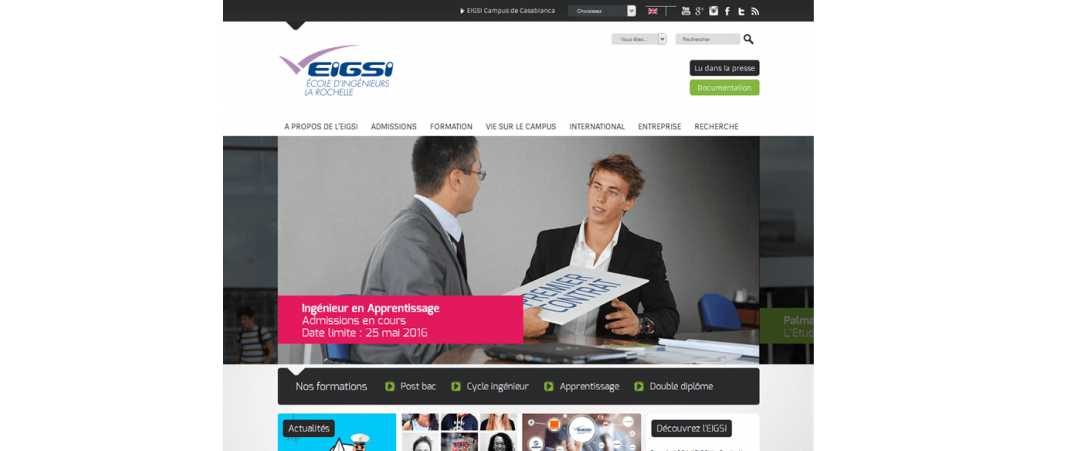Eigsi – Ecole d'Ingénieurs en Genie des Systemes Industriels