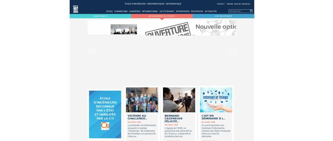 Eisti – Ecole International des Sciences du Traitement de l'Information