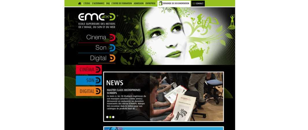 Emc – Ecole Supérieure des Métiers de l'Image du Son et du Web