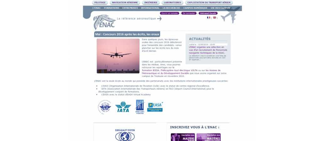 Enac – Ecole Nationale de l'Aviation Civile