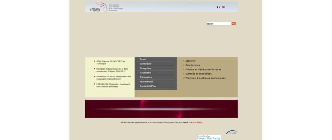 Ensae – Ecole Nationale de la Statistique et de l'Administration Economique