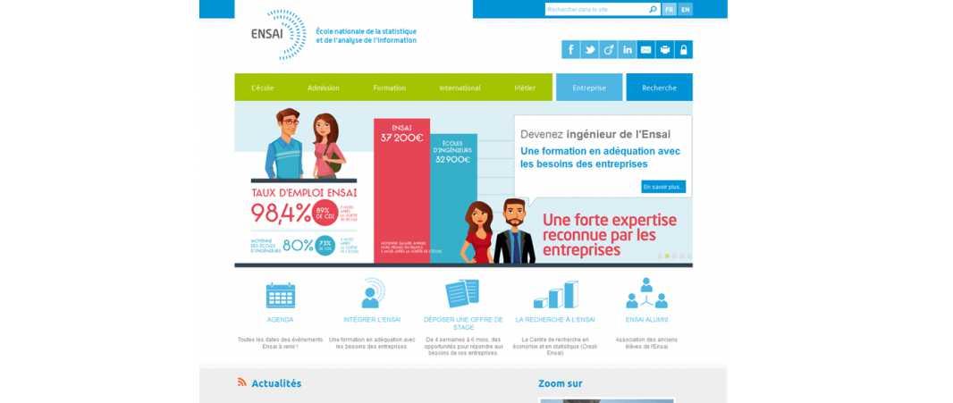 Ensai – Ecole Nationale de la Statistique et de l'Analyse de l'Information