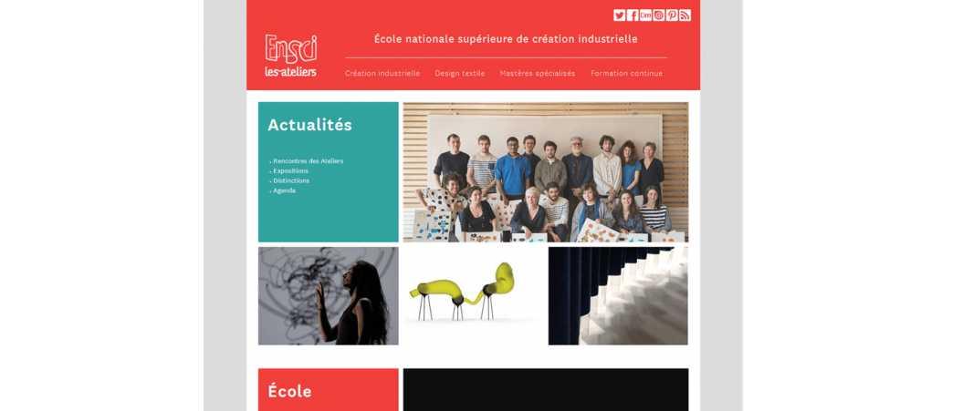 Ensci – Les Ateliers
