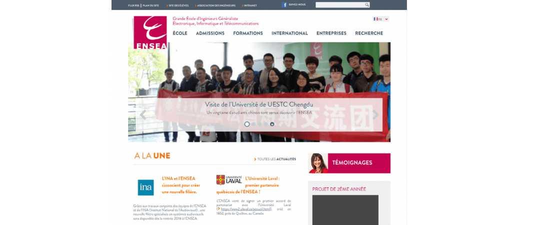 Ensea – Ecole Nationale Supérieure de l'Electronique et de Ses Applications