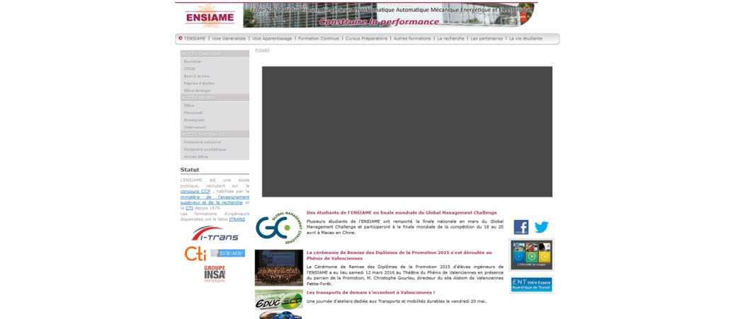 Ensiame – Ecole Nationale Supérieure d'Ingénieurs en Informatique Automatique Mecanique Energetique et Electronique