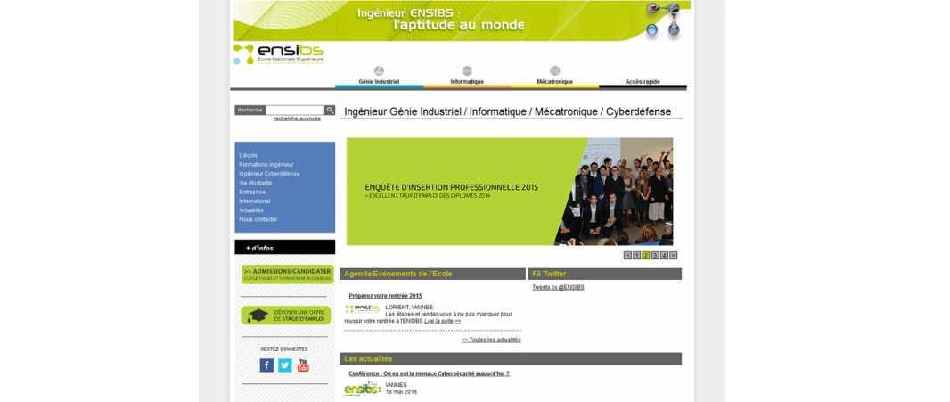 Ensibs – Ecole d'Ingénieurs de Bretagne
