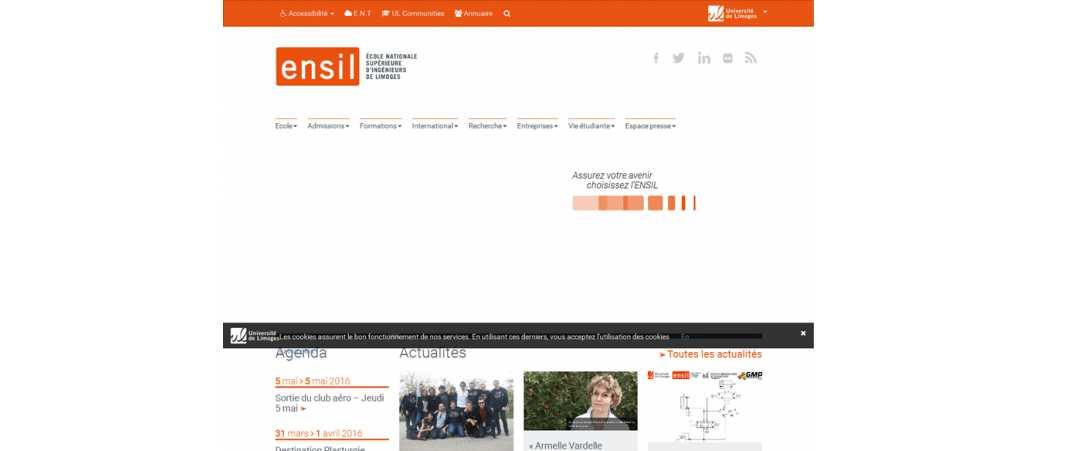 Ensil – Ecole Nationale Supérieure d'Ingénieurs de Limoges