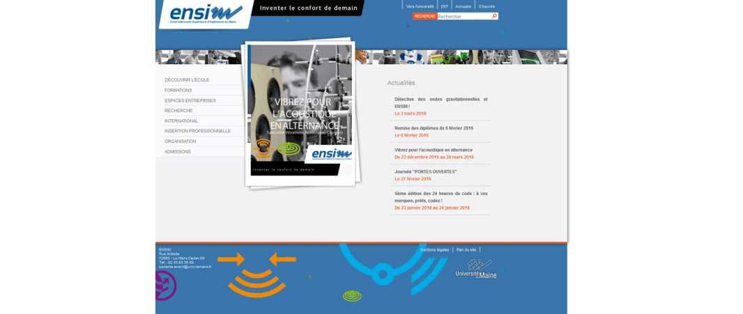 Ensim – Ecole Nationale Supérieure d'Ingénieurs du Mans