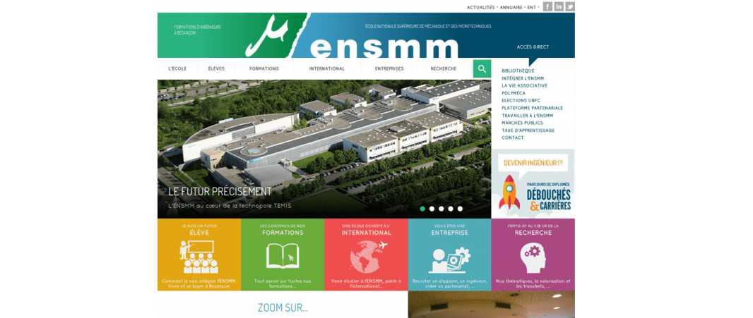 Ensmm – Ecole Nationale Supérieure de Mecanique et des Microtechniques