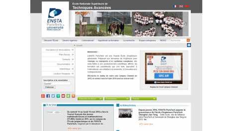 Ensta Paristech – Ecole Nationale Supérieure de Techniques Avancees