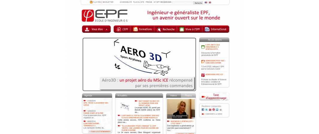Epf – Ecole d'Ingénieurs