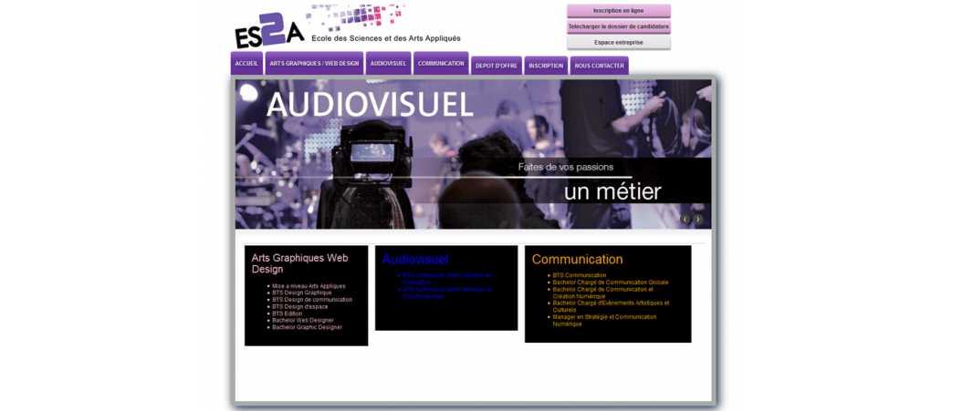 Es2A – Ecole des Sciences et des Arts Appliqués
