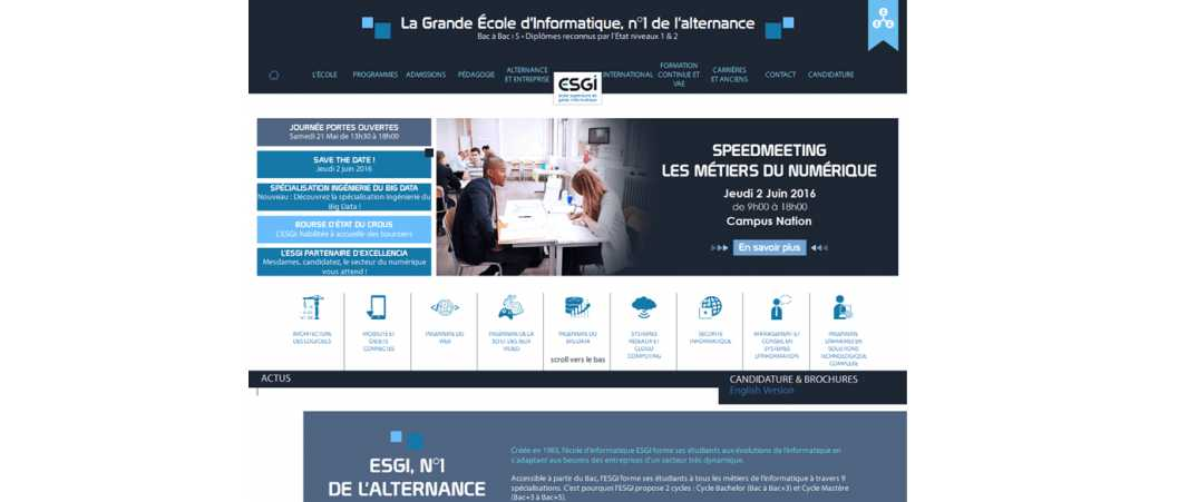 Esgi – Ecole Supérieure de Genie Informatique