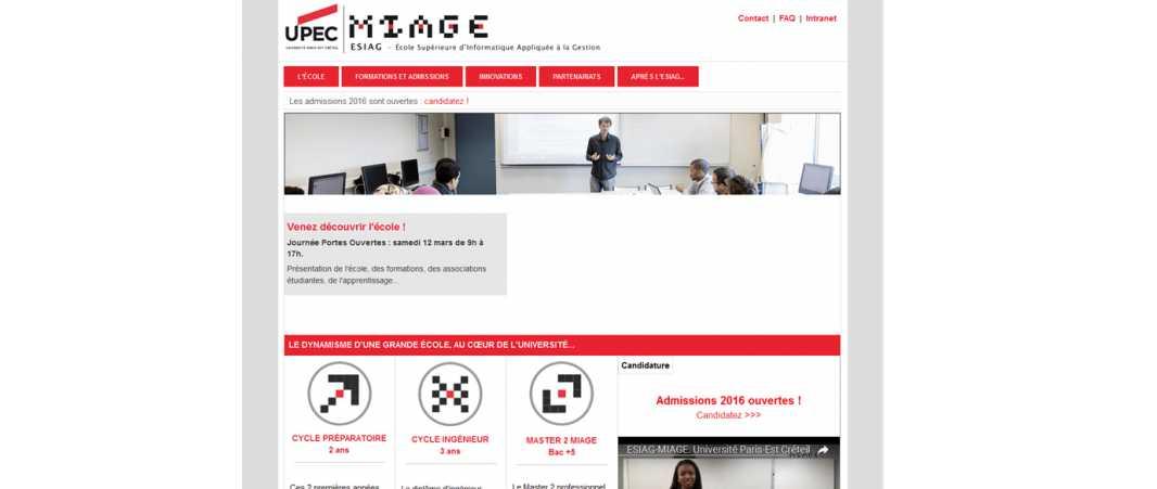 Esiag – Ecole Supérieure d'Informatique Appliquee A la Gestion