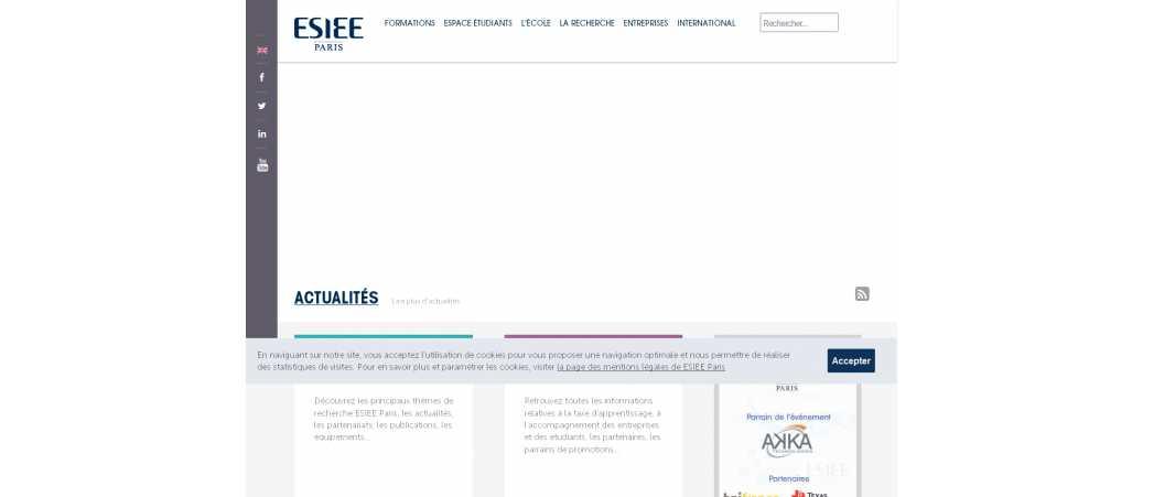 Esiee Paris – Ecole Supérieure d'Ingénieurs en Electrotechnique et Electronique de Paris