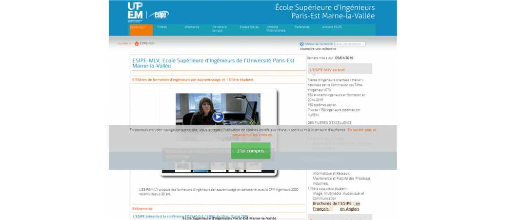 Esipe – Ecole Supérieure d'Ingénieurs Paris Est Marne la Vallee