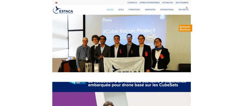 Estaca – Ecole Supérieure des Techniques Aeronautiques et de Construction Automobile