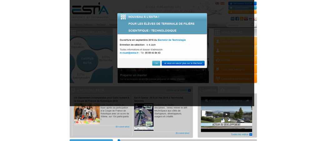 Estia – Ecole Supérieure des Technologies Industrielles Avancees