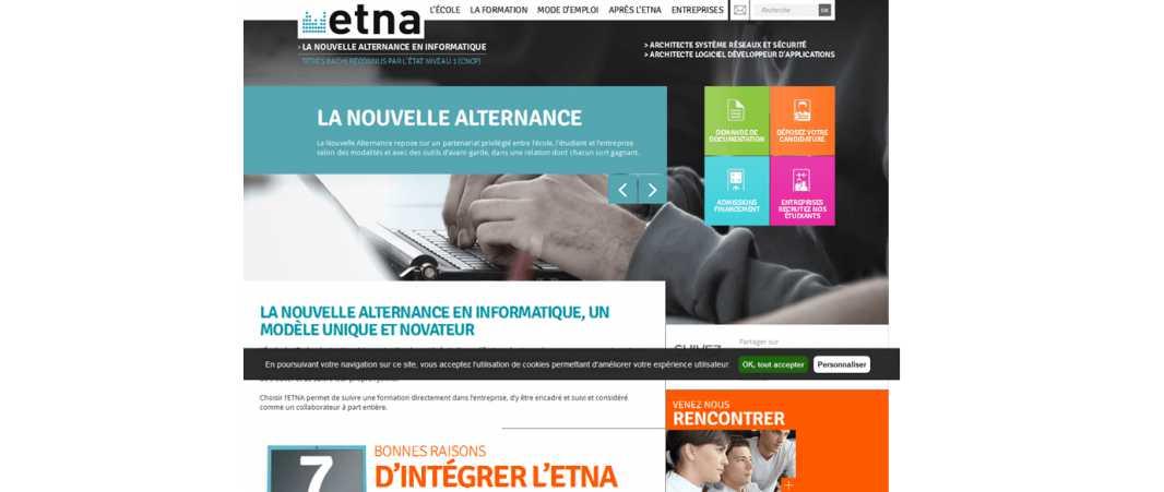Etna – Ecole des Technologies Numeriques Appliquees