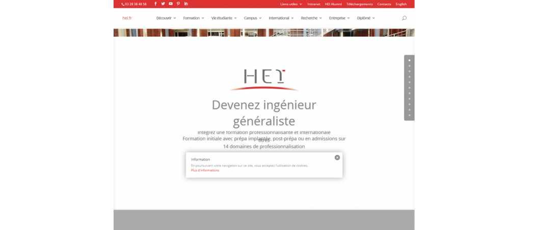 HEI – Hautes Etudes d'Ingénieurs