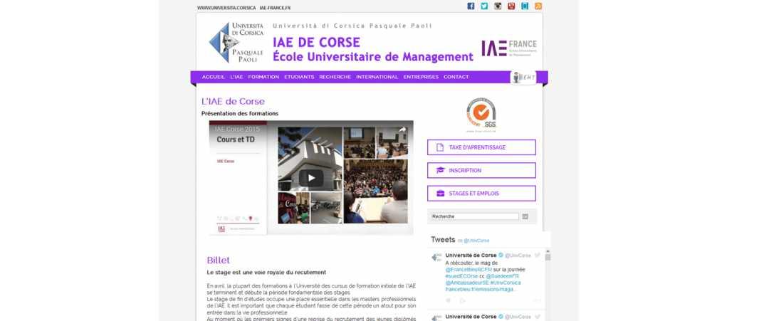 IAE Corse