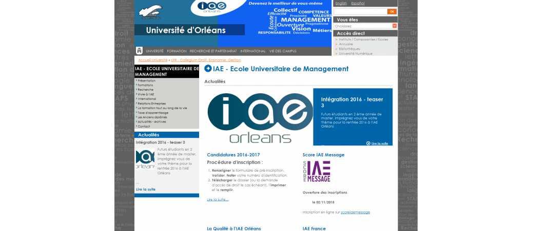 IAE Orleans