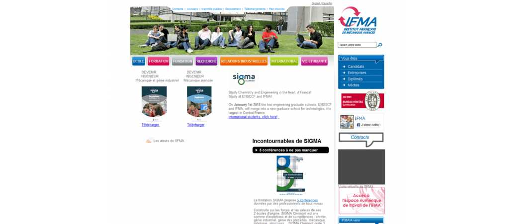 Ifma – Institut Francais de Mecanique Avancee