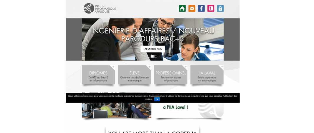 Iia – Institut d'Informatique Appliquee de Laval