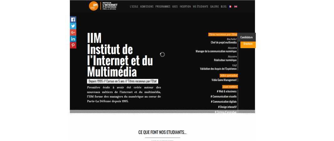 Iim – Institut de l'Internet et du Multimedia