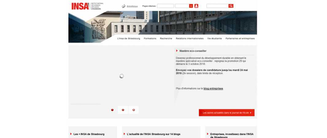 Insa Strasbourg – Institut National des Sciences Appliquees de Strasbourg
