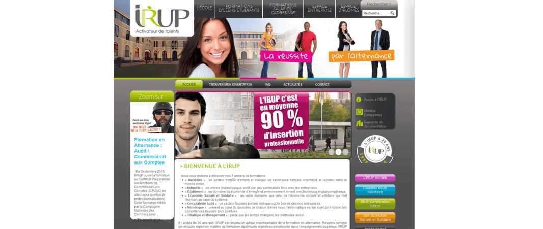 Irup – Institut Regional Universitaire Polytechnique