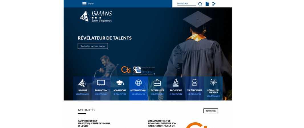 Ismans – Institut Superieur des Materiaux et Mecaniques Avancees