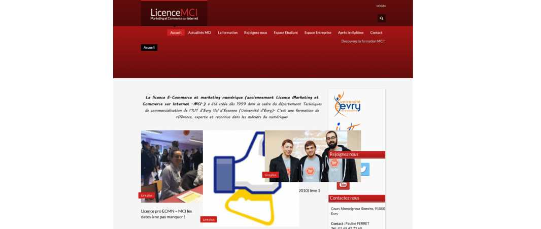 Licence Mci – Marketing et Commerce Sur Internet