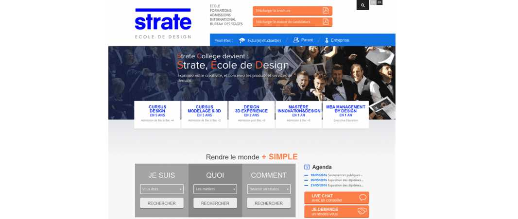 Strate College