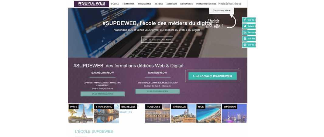 Sup de Web