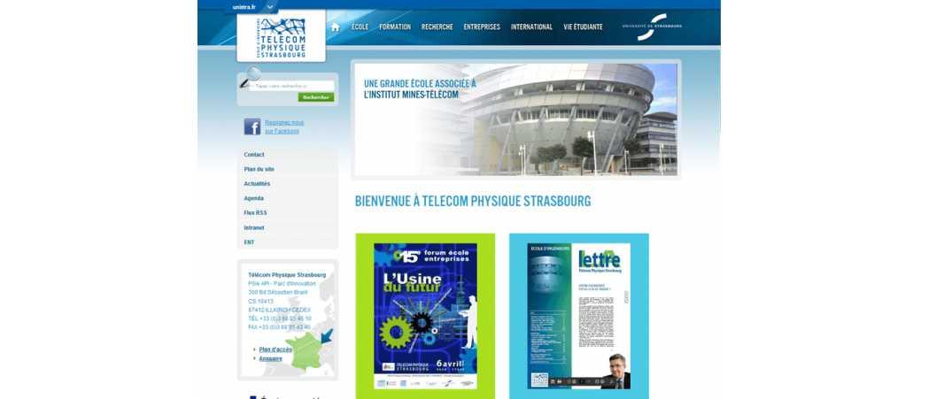 Telecom Physique Strasbourg