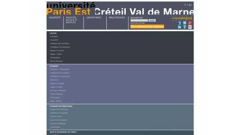 Université Paris 12 – Paris Est Creteil