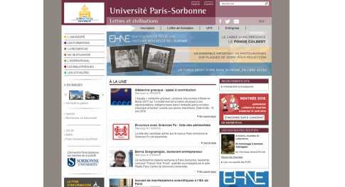 Université Paris 4 – Sorbonne