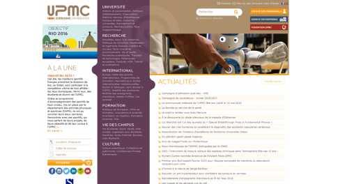 Université Paris 6 – Pierre et Marie Curie – Upmc