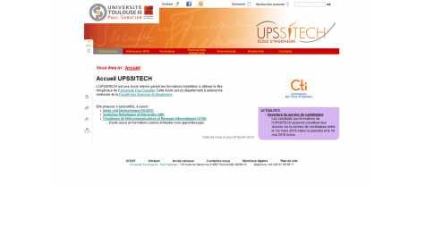 Upssitech – Ecole d'Ingénieurs