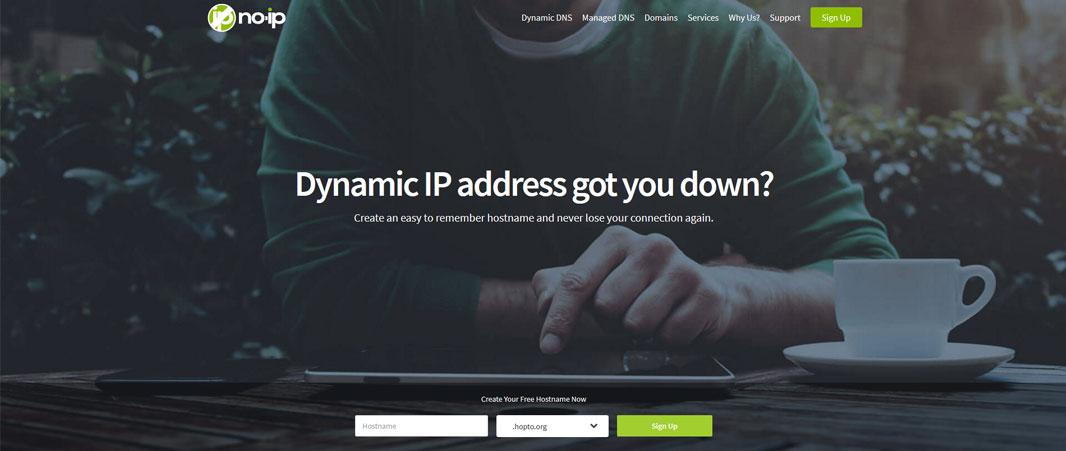site no-ip